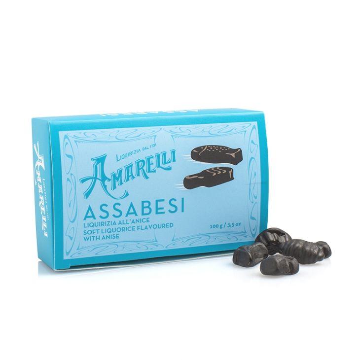 Réglisses à l'anis Amarelli 100 g