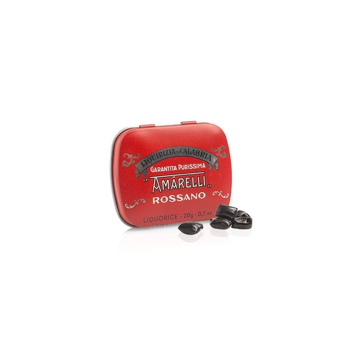 Réglisse Rossa Pure 20 g Amarelli