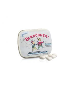 Réglisse Bianconeri 20 g Amarelli