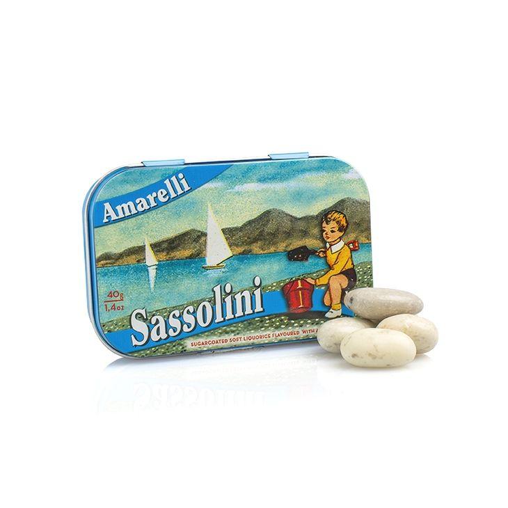 Petits galets à la réglisse Amarelli 40 g