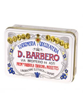 Oeufs au chocolat au lait boîte collector rose Barbero