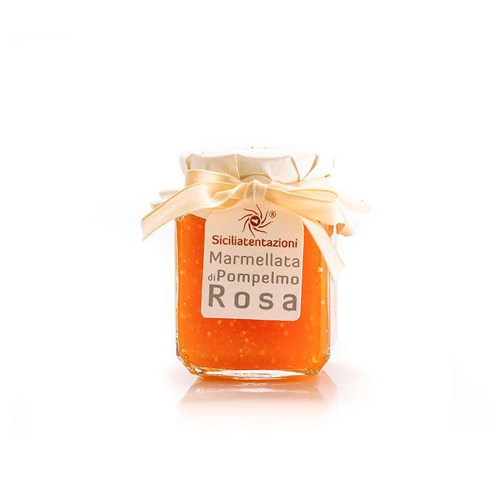 Marmelade de pamplemousse rose de Sicile