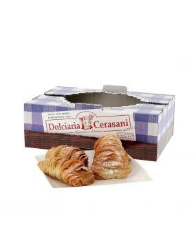 Sfogliatelle fourrées à la crème blanche 500 g Cerasani