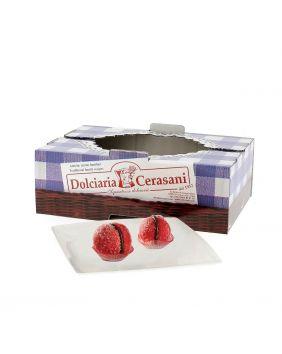 Bouchées croquantes gianduja 500 g Cerasani