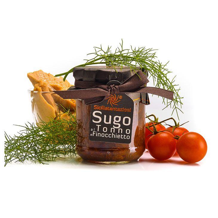 Sauce thon fenouil Sicilia Tentazioni