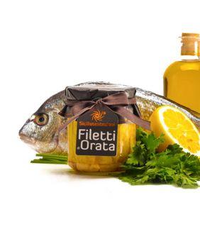 Filets de dorade à l'huile d'olive Sicilia Tentazioni