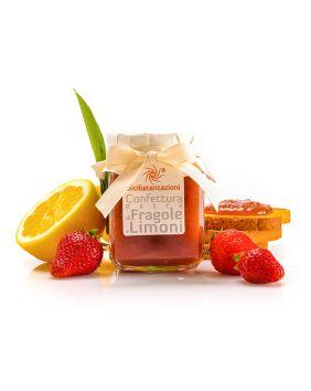 Marmelade de fraise citron de Sicile