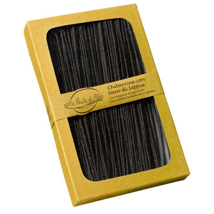 Chitarrine nero di seppia 250 g Pasta di Aldo