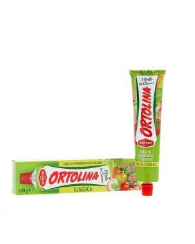 Sauce tomate et légumes en tube Ortolina