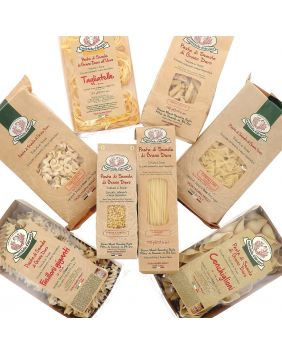 Assortiment de 6 pâtes artisanales Rustichella