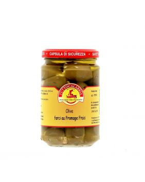 OLIVES FARCIES AU FROMAGE FRAIS TUTTOCALABRIA 280GR
