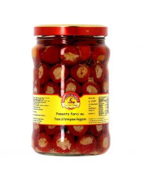 Piments farcis thon parmesan Tuttocalabria 1,6 kg