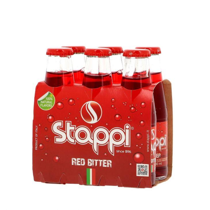 Bitter rouge soda sans alcool Stappj