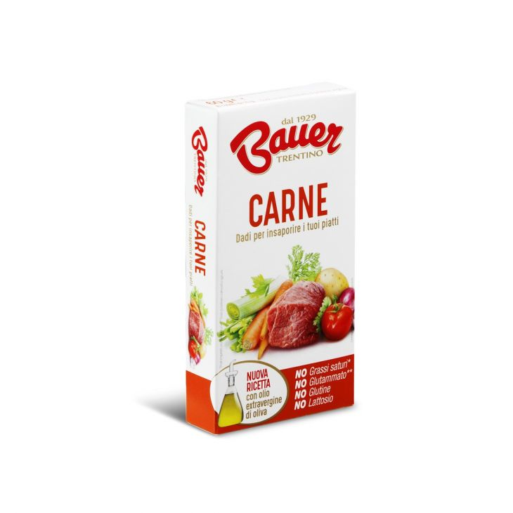 Bouillon cube à base de viande Bauer