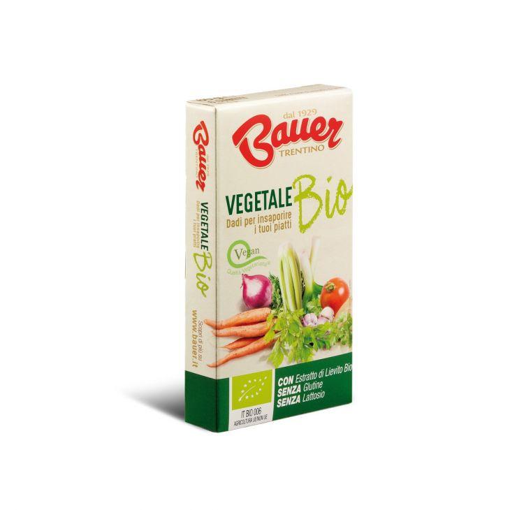 Bouillon cube biologique aux légumes Bauer