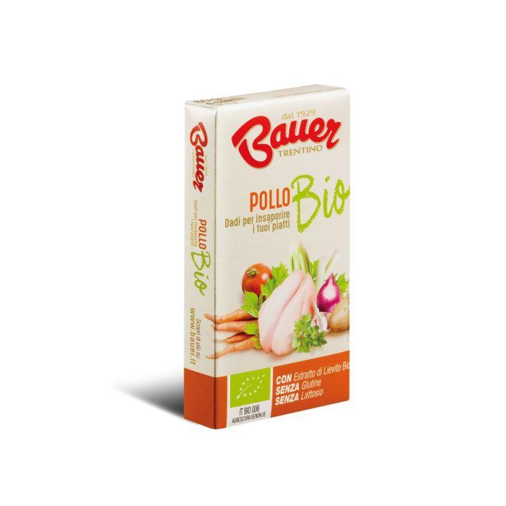 Bouillon cube BIO au bœuf 6x10g Bauer