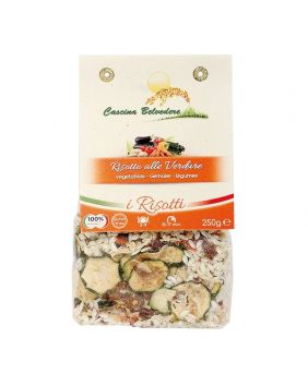 Risotto aux légumes 250 g Cascina Belvedere