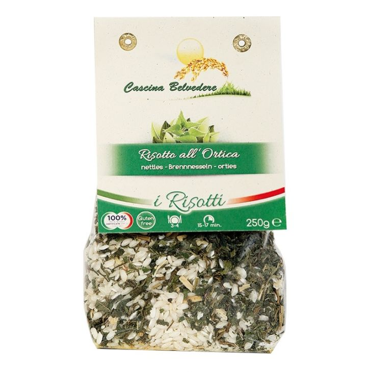 Risotto orties 250 g Cascina Belvedere
