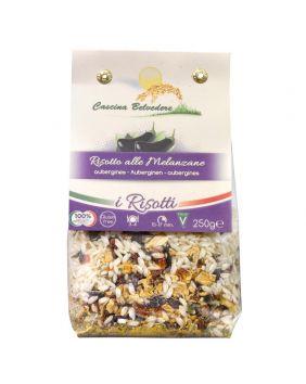 Risotto aux aubergines Cascina Belvedere