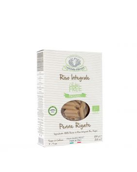 Penne à la farine de riz, bio et sans gluten Rustichella