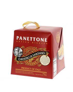 Panettone traditionnel en boîte carton Lazzaroni 500 g