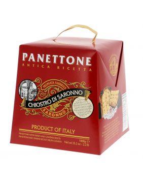Panettone traditionnel en boîte carton Lazzaroni 1 kg