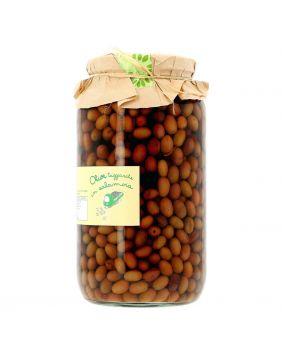 Olives taggiasche dans la saumure La Baita 2,7 kg