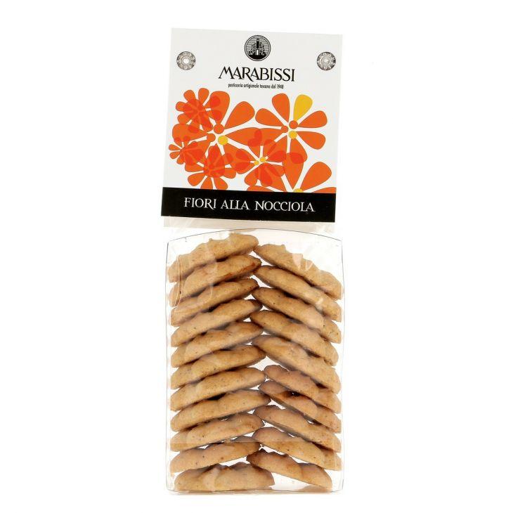 Biscuits fiori aux noisettes Marabissi 130 g