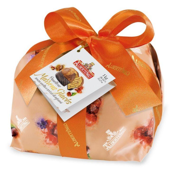 Panettone marrons glacés Albertengo 1 kg