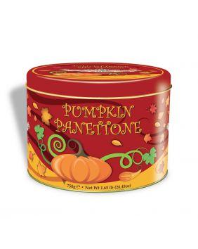 Panettone Lazzaroni citrouille boite métal collector