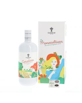 Huile d'olive extra vierge coratina 1 L