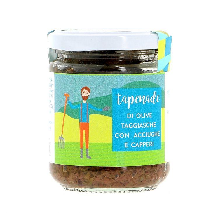 Tapenade olives anchois & câpres 170 g La Baïta
