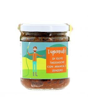 Tapenade olives oranges & gingembres 170 g La Baïta