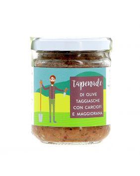 Tapenade olives artichauts & marjolaine 170 g La Baïta