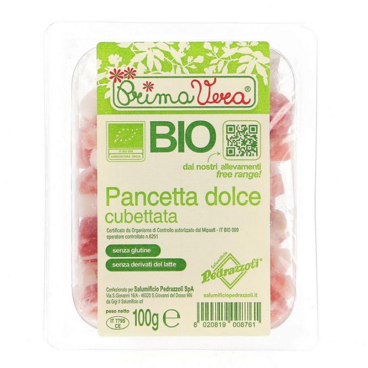 Pancetta Bio en cubes