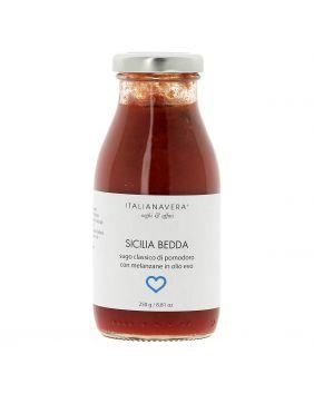 Sauce aux aubergines Sicilia Bedda