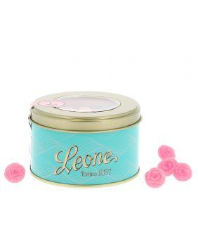 Bonbons à la rose en boite collector