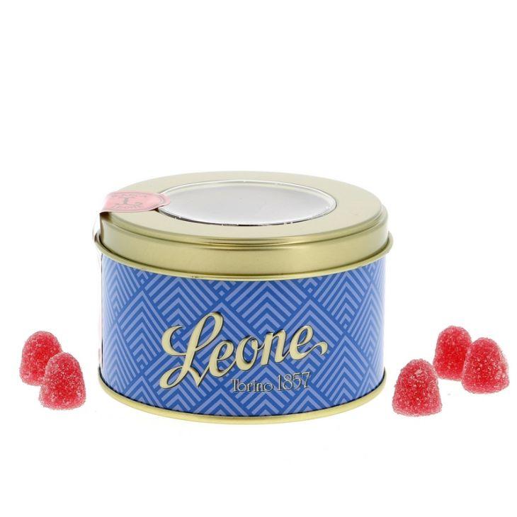 Pâtes de fruit fraise en boîte collector