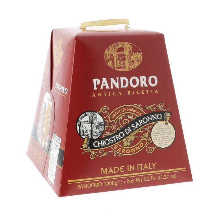 Pandoro traditionnel Lazzaroni 1 kg