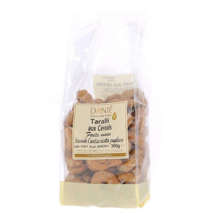 Taralli artisanaux aux céréales Danieli