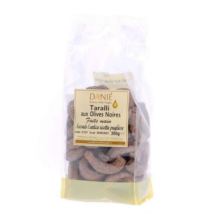 Taralli artisanaux aux olives noires