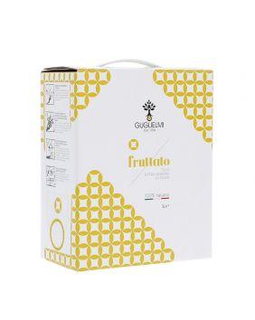 Huile d'olive extra vierge fruitée des Pouilles 3 L