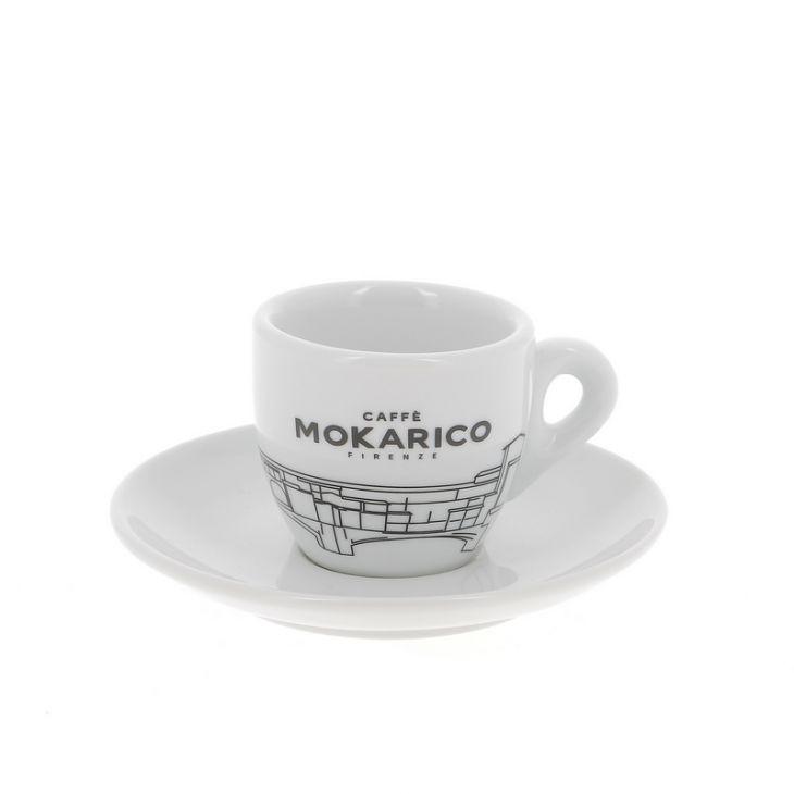 Set de 6 tasses à espresso en porcelaine