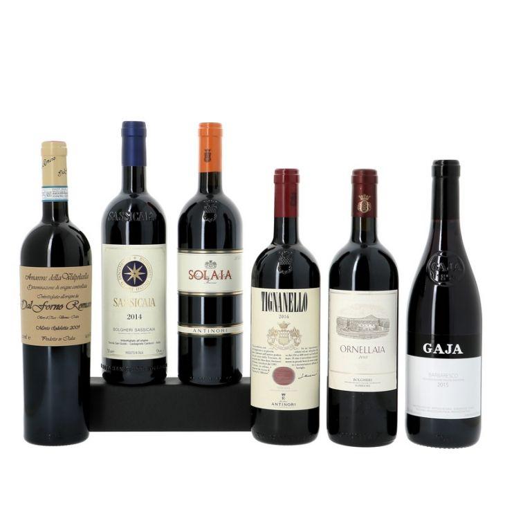 Découverte des vins rouges italiens d'exception