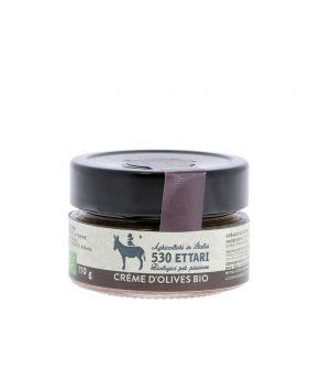 Crème d'olives BIO