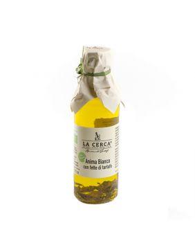 Huile d'olive lamelles truffes blanches 100 ml La Cerca