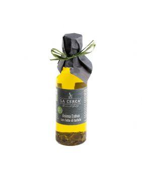Huile d'olive lamelles truffes d'été BIO 100 ml La Cerca