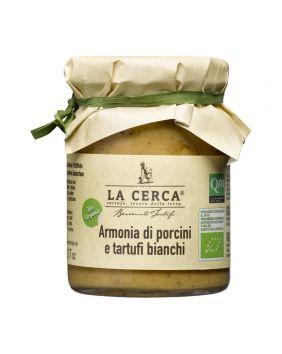 Crème de cèpes et truffes BIO La Cerca 90 g