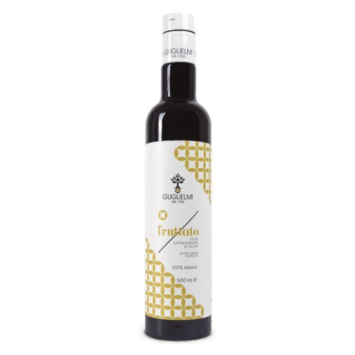 Huile d'olive des Pouilles au goût fruité Guglielmi 50 cl