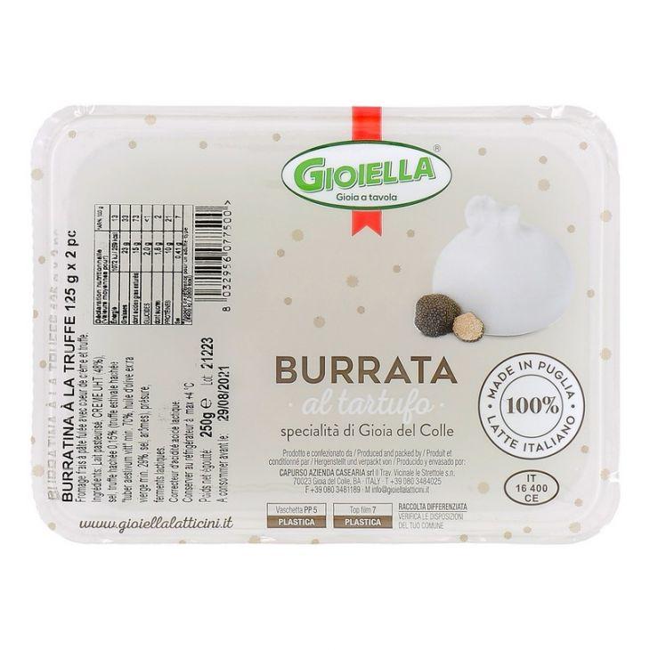 Burratina à la truffe
